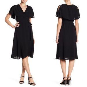 Spirit of Grace Surplice Neck Wrap Dress XS